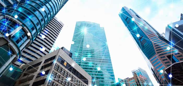 edificios en ciudad