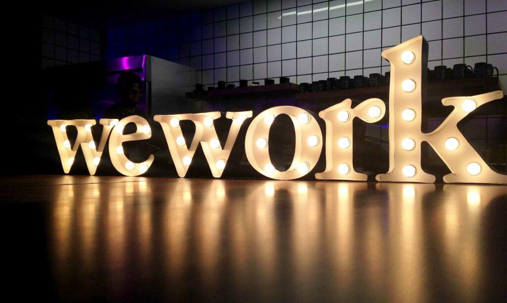 empresa de coworking wework