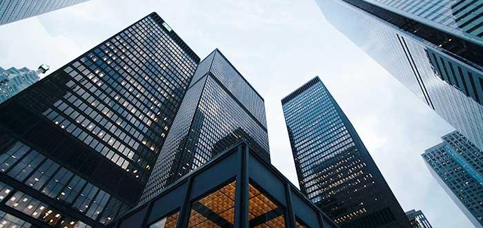 altos edificios de cristales