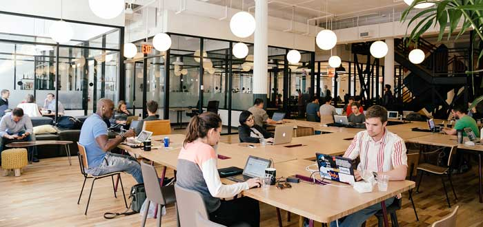 freelancers en headquarters wework