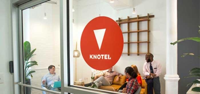 knotel empresa de coworking