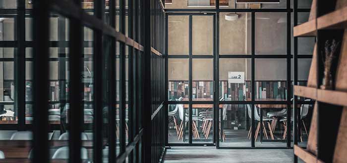 oficinas privadas opción de espacio en un coworking