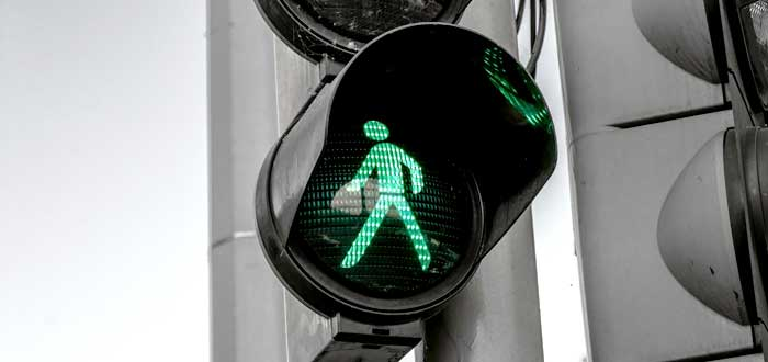 semásforo en verde