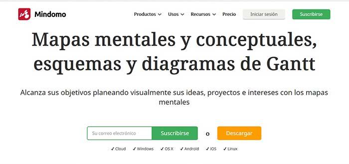 mindomo-screenshot-aplicaciones-para-hacer-mapas-mentales