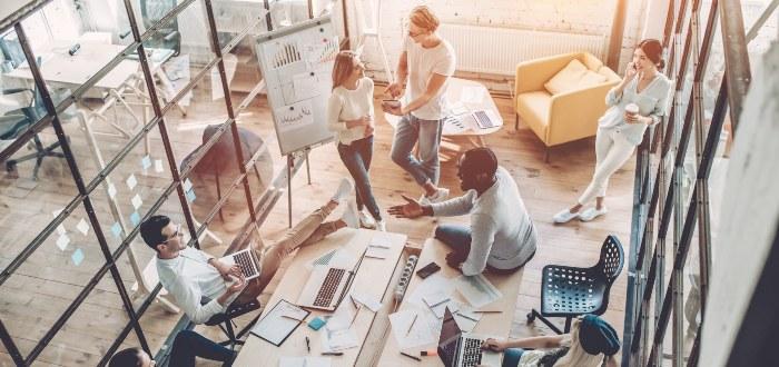 Espacio-de-coworking-economía-de-acceso
