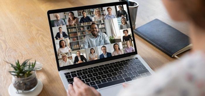Dinámica de grupo online en videoconferencia