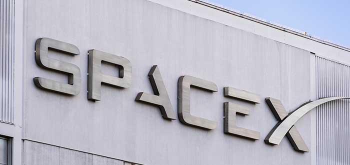 logo de la empresa SpaceX
