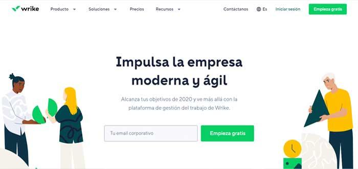 Wrike - Gestión de proyectos