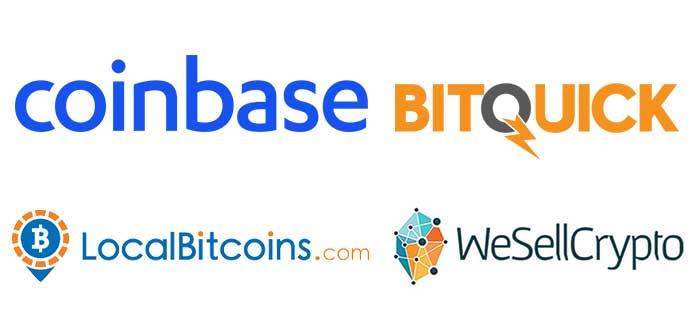 Lugares para comprar Bitcoins
