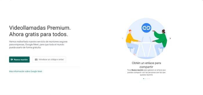 Google Meet | Aplicaciones para videoconferencias
