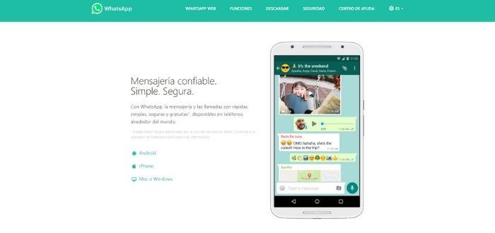 WhatsApp | Aplicaciones para videoconferencias