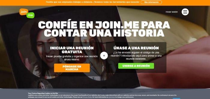 Join.me | Aplicaciones para videoconferencias