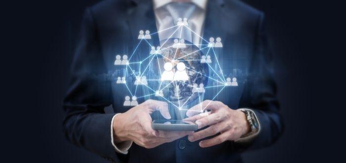 Creación de contactos de negocios