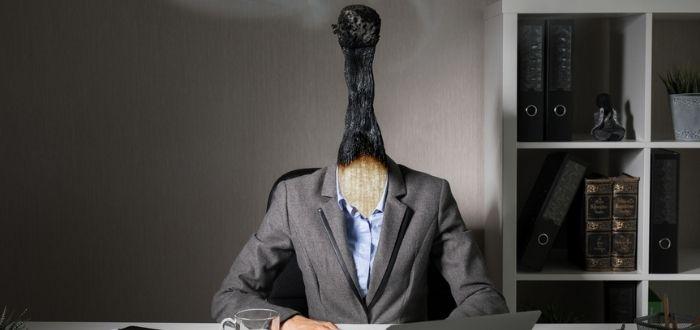 Representación de trabajador con síndrome de desgaste profesional