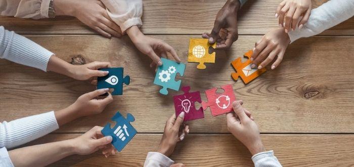 Roles en un equipo de trabajo cohesionados