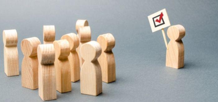 Líder democrático   Tipos de liderazgo