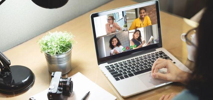 Reunión de trabajo virtual