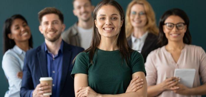 Candidatos con aptitudes profesionales y personales