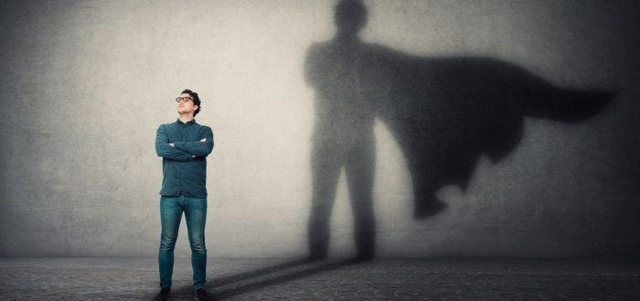 Trabajador motivado y con confianza en sí mismo