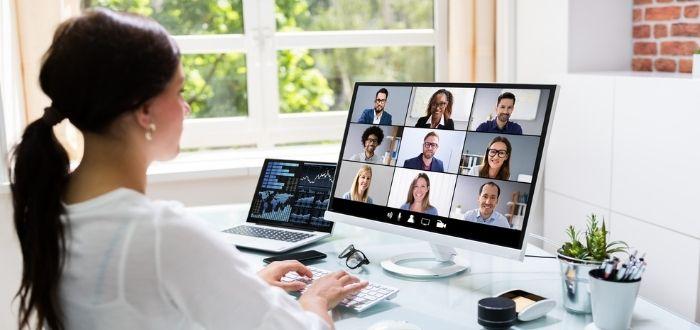 Reuniones de trabajo virtuales